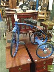 Sale 8412 - Lot 1023 - Vintage Trike with Passenger Stand