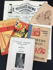 Sale 8539M - Lot 161 - 6 Vols., including Herman Yerger Memorial by Linking Ring 1965, E-Z Magic - Robbins & Co. Catalog No. 21; Your Numbers by Flor...