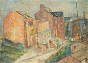 Sale 8548 - Lot 2006 - Gladys Owen - Paddington Rooftops 44.5 x 60cm
