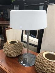 Sale 8901F - Lot 1051 - Lucci Chrome Table Lamp