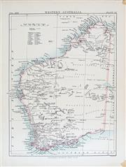 Sale 8450 - Lot 37 - An early Map of Western Australia and a Pair of early French hand-coloured engravings