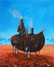 Sale 8491 - Lot 2041 - Max Horst Sokolowski - Ned Kelly Series 50 x 40cm