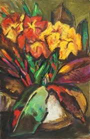 Sale 8526 - Lot 588 - George Finey (1895 - 1987) - Still Life 77.5 x 50.5cm