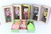 Sale 8766 - Lot 76 - Collection of Mostly Avon Barbie Figures