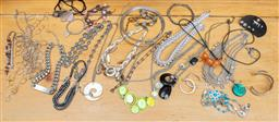 Sale 9165H - Lot 124 - A large collection of assorted costume jewellery.