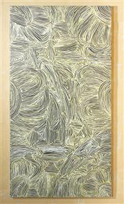 Sale 8550H - Lot 35 - Marcia Tuner Pwerle - Untitled, 2005 144 x 77cm