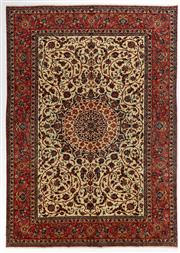 Sale 8770C - Lot 11 - A Very Fine Persian Isfahan From Isfahan Region 100% Wool Pile On Cotton Foundation, 405 x 285cm
