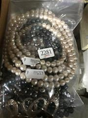 Sale 8797 - Lot 2281 - Collection of Freshwater Cultured Pearl Necklaces together with Costume Jewellery