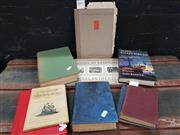 Sale 8822B - Lot 710 - Collection of Books, all signed with Letter to Ure Smith dated 1940 incl Martin Hardie R.E.The British School of Etching Print Col...