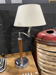 Sale 8876 - Lot 1006 - Pair of French Made Le Dauphin Metal & Timber Table Lamps