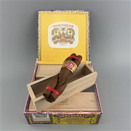 Sale 9250W - Lot 790A - Partagas Culebras Cuban Cigars - box of 9 individual cigars, stamped October 2020