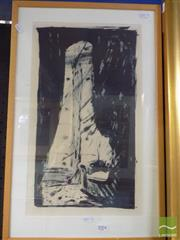 Sale 8513 - Lot 2004 - Helen Eager - Light Charms lithograph, ed.5/9, 40 x 20cm, signed lower right