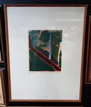 Sale 9077 - Lot 2024 - Idris Murphy Untitled, screenprint, ed. a/p, 4/9, frame: 84 x 56 cm, signed lower right