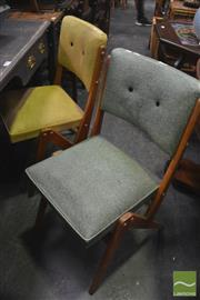Sale 8338 - Lot 1678 - Pair of Retro Dining Chairs