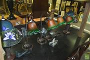 Sale 8380 - Lot 1084 - Collection of Six Table Lamps