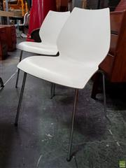 Sale 8625 - Lot 1061 - Set of Four Maui Chairs by Kartell -