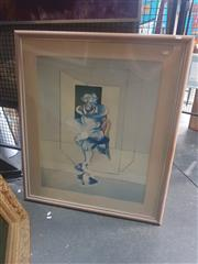 Sale 8836 - Lot 2049 - After Francis Bacon - Man on Chair 73 x 60cm
