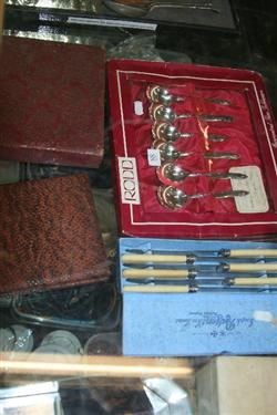 Sale 7917 - Lot 88 - Rodd Silver Plated Cutlery & Others incl Souvenir Spoons