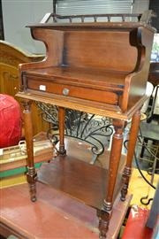 Sale 8115 - Lot 1160 - Timber Telephone Table
