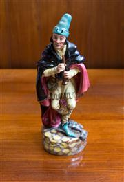 Sale 8313A - Lot 48 - A Royal Doulton figure, The Pied Piper, HN 2102, 1952, height 23cm