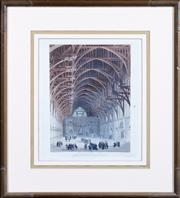 Sale 8518A - Lot 99 - After J Bluck - Westminster Hall 26 x 19cm
