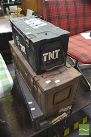 Sale 8341 - Lot 1098 - Collection of Ammo Boxes