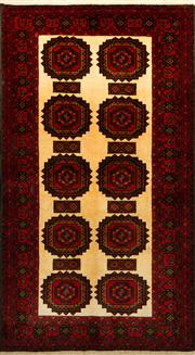 Sale 8412C - Lot 33 - Persian Baluchi 180cm x 100cm