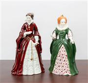 Sale 8774A - Lot 213 - Two Queens of England, Mary the 1st and Elizabeth the 1st, 232 326 of 1000, H x 21cm