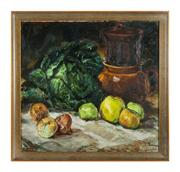 Sale 8828B - Lot 79 - Frans Guns - Belgium, active in 1930-1950s - Still Life 50 x 53cm