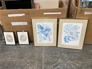 Sale 9041 - Lot 2093 - Group of (4) Peter Longhurst prints, each edition and signed (framed/various sizes)