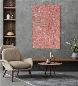 Sale 9128A - Lot 5025 - Jake Tjapaltjarri (1970 - ) - Tingari 153 x 97 cm (stretched and ready to hang)