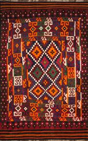 Sale 8323C - Lot 36 - Persian Kilim 212cm x 180cm RRP $1200