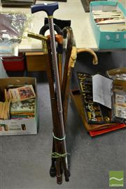 Sale 8548 - Lot 2345 - Collection of Various Walking Sticks