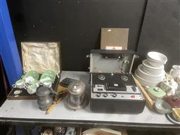 Sale 9101 - Lot 2429 - Sundries incl , Sony Reel to Reel Recorder etc