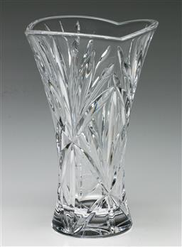 Sale 9192 - Lot 56 - A Marquis by Waterford Crystal Vase (H:24cm)