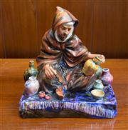 Sale 8313A - Lot 50 - A Royal Doulton figure, The Potter, HN 1493, height 19cm