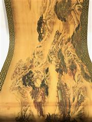 Sale 8732W - Lot 74 - Large Scroll with Mountain Scene ( L 350cm)