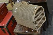 Sale 8046 - Lot 1084 - Cane Cat Cage