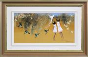 Sale 8301 - Lot 501 - Richard Bogusz (1947 - ) - In Full Flight 26.5 x 54.5cm