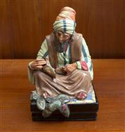 Sale 8313A - Lot 51 - A Royal Doulton figure, The Cobbler, HN 1706, height 20.5cm