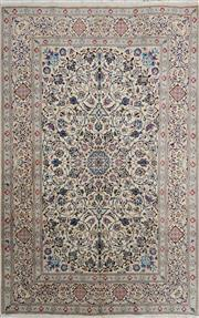 Sale 8323C - Lot 38 - Persian Nain 288cm x 190cm RRP $4000