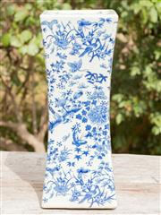 Sale 8422A - Lot 81 - A ceramic Chinese stand or censor, height 38cm