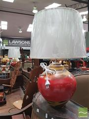Sale 8455 - Lot 1018 - Pair of Italian Hand Made Flavia Design Lamps (2262)