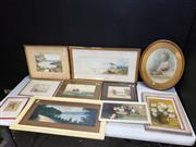 Sale 8958 - Lot 2076 - Group of (12) Early C20th Watercolours and Mid-Century Paintings by Various Artists