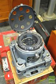 Sale 8275 - Lot 1088 - Gyroscopic Compass In Red Trunk