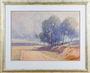 Sale 8308A - Lot 38 - Lister, W.L., Landscape, watercolour on paper, 43.0 x 60.5 cm