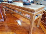 Sale 8740 - Lot 1174 - Oriental Timber Two Seater Bench