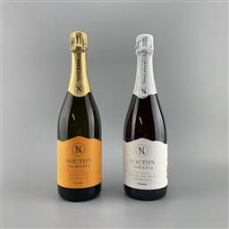 Sale 9257W - Lot 910 - 2x NV Nocton Sparkling, Coal Valley - Pinot Chardonnay & Rose