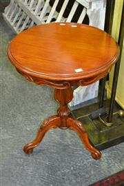 Sale 8115 - Lot 1048 - Carved Timber Wine Table