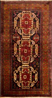 Sale 8323C - Lot 40 - Persian Baluchi 190cm x 142cm RRP $900